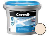 CERESIT - CE40 AQUASTATIC 5kg - Nová flexibilní spárovací hmota PREMIUM FLEX FUGA, natura 41