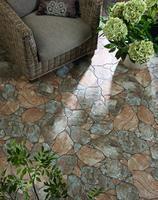 MLT - CANED - Glazovaná slinutá imitace kamenů.