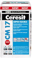 """Ceresit CM 17 Stop Dust Flexibilní bezprašná lepicí malta """"SuperFlex"""""""