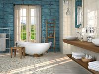 CIFRE - MONTBLANC - Rustikální koupelnová série