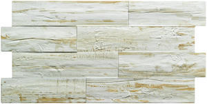 MLT - CANADA - Obklady imitace dřeva se zámky,   bone - 33,3x66,6x0,9cm