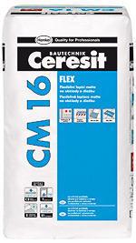 CERESIT 2021 - CM 16 - Flexibilní lepicí malta 25 kg