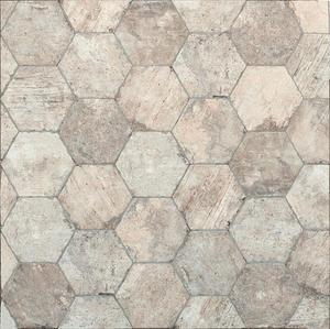 CHICAGO BRICK AMERICA, South Side-24x27,7x1,05cm hexagon - 2