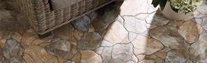 MLT - CANED - Glazovaná slinutá imitace kamenů. - 3