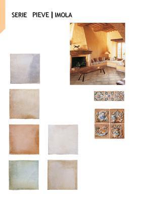 IMOLA - PIEVE - Interiérová rustikální dlažba a obklady (Doprodej-dostupnost na dotaz) - 3