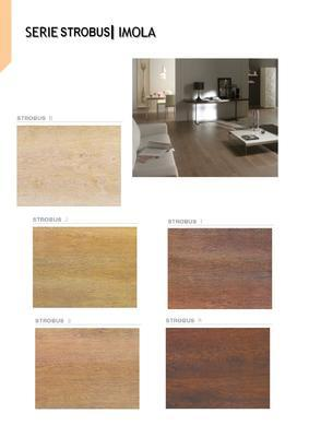 IMOLA  - STROBUS - Glazovaná slinutá dlažba imitace dřeva - 4