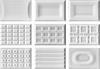 CENTO PER CENTO - Keramické obklady s fazetkou, Cacao White (W) - 12x18x0,98cm