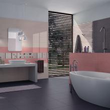 Dlažby a obklady pro koupelny